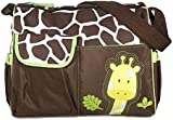 Adoraland Multifunctional Mummy Handbag Baby Diaper Nappy Changing Bag---Giraffe Pattern