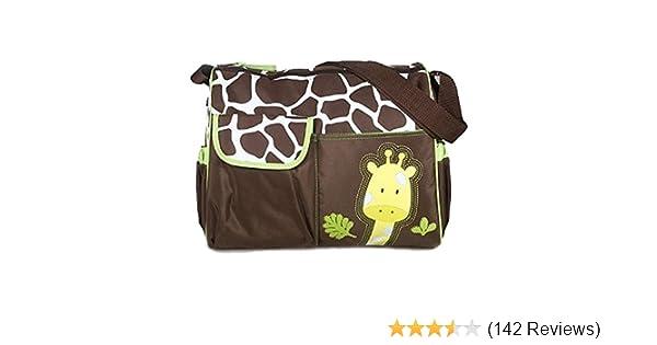 Wickeltasche Giraffe Tasche Enthält Matte und Klar Zubehör Tasche von Trixes
