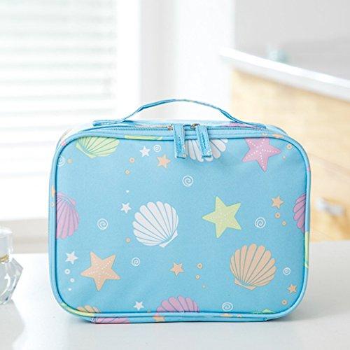 TaoMi Homw- Travel Cosmetic Bag Sac de rangement à grande capacité Mini Sac de lavage portatif féminin simple ( Couleur : #3 , taille : 22*9*16cm )