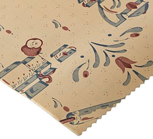 Magic Coque Vinyle Adhésif Contact Papier pour étagère Liner, Doublure de tiroir et projets de Bricolage et Les travaux manuels – 45,7 cm par 9 Pieds par Rouleau, Motif Tea Time