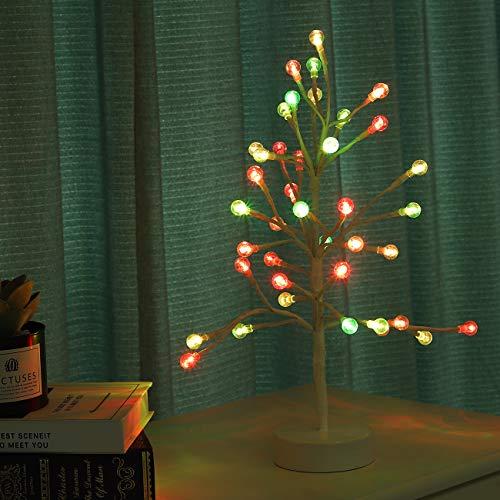 Lewondr LED Luz de Bonsái de Árbol