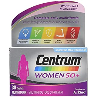 CENTRUM ADVANCE 50 Plus Multivitamin Tablets for Women, Pack of 30