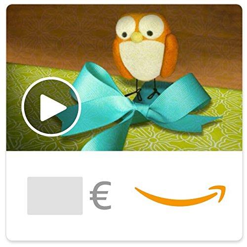 Chèque-cadeau Amazon.fr - eChèque-cadeau - Anniversaire enjoué (animation)