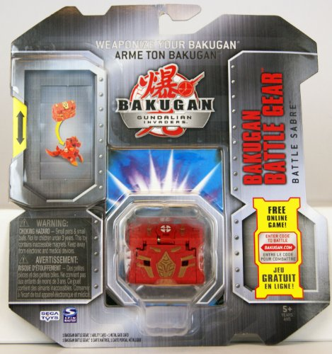 Bakugan Gundalian Invaders - Bakugan Battle Gear - Battle Sabre