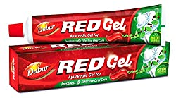 DABUR Red Gel Toothpaste (150 g) - Pack of 2