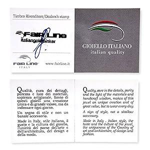 """Gioiello Italiano - Collana """"Atomo"""" in argento"""