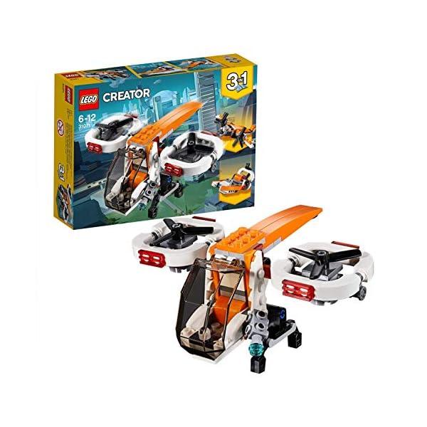 LEGO- Creator Drone Esploratore, Multicolore, 31071 1 spesavip