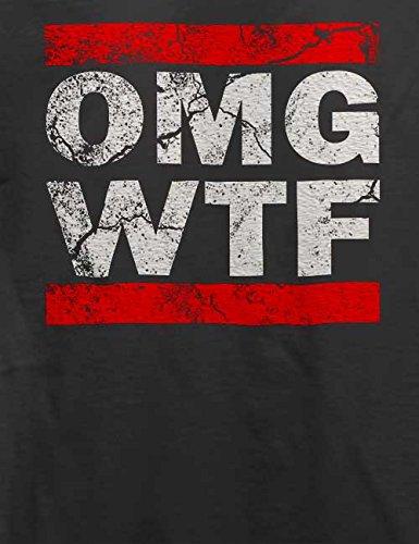 Omg Wtf T-Shirt Grau