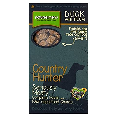 Natures Pays De Menu Chasseur De Canard Et De Prune Superaliments Crunch 700G (Lot de 2)