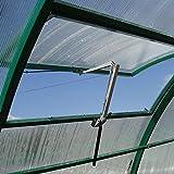 Acecoree Automatischer Fensteröffner Aluminium Gewächshaus-Zubehör automatischer Fensteröffner (7 kg Hubkraft, 45 cm Hubhöhe)