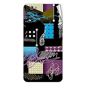 Garmor Designer Mobile Skin Sticker For Gionee 715 - Mobile Sticker