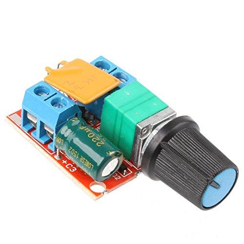 Preisvergleich Produktbild DC 3–35V 5A PWM Motor Speed Control Switch Regler Controller