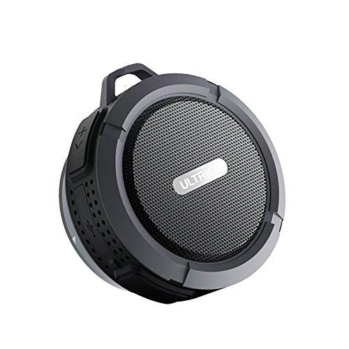 ULTRICS® altoparlanti Bluetooth, altoparlante portatile Wireless Outdoor/Doccia con funzione CE RoHS FCC certificato IPX4impermeabile Bluetooth 4.0tecnologia microfono integrato vivavoce con ventosa, 100% Garanzia di soddisfazione