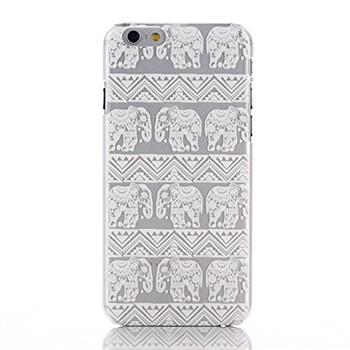 """iPhone 6 (4.7"""") Housse , Amison 3 pièces Henné fleurs paisley attrapeur de rêves Plastique Coque Case"""