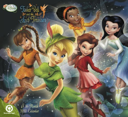 Tinker Bell and The Lost Treasure 2010 Calendar (Disney Fairies)