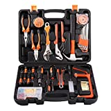 Tool Kit, LESHP Precision Tools 100 Piece DIY Home Household Toolkit with Combination