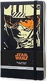 Moleskine Large Star Wars Luke Skywalker Limited Edition Hard Ruled Notebook