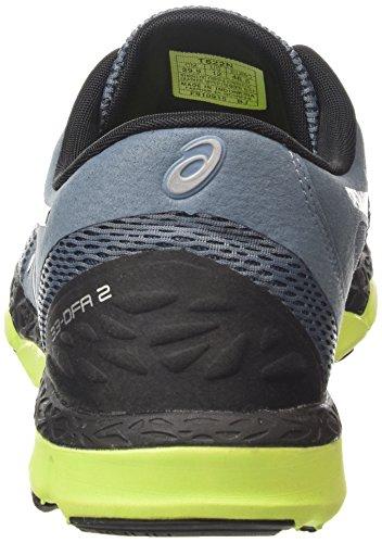 Asics 33-dfa 2 Herren Laufschuhe Blau (blue Mirage/black/flash Yellow 6290)