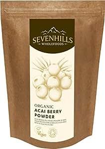 Sevenhills Wholefoods Poudre De Baie D'Açaï Bio 500g