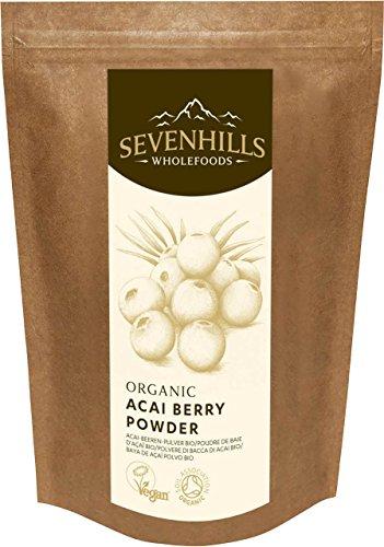 Sevenhills Wholefoods Polvere Di Bacca Di Acai Bio 500g