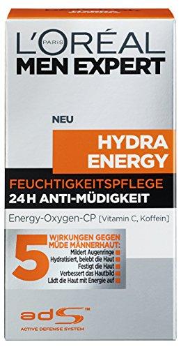 L'Oréal Men Expert Hydra Energy Anti Müdigkeit Feuchtigkeitspflege, 50ml