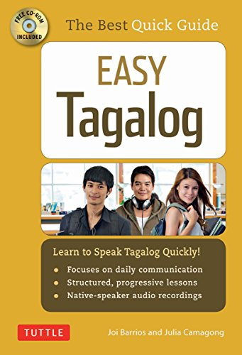 Easy Tagalog (with CD Rom): Learn to Speak Tagalog Quickly and Easily! (Tagalog > Englisch)