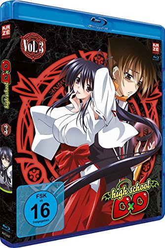Highschool DxD - Vol. 3 [Blu-ray]