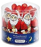 Riegelein - Weihnachtsmann aus Vollmilch-Schokolade Weihnachtsmänner Schokofiguren Nikolausfiguren Fairtrade - 11St/275g