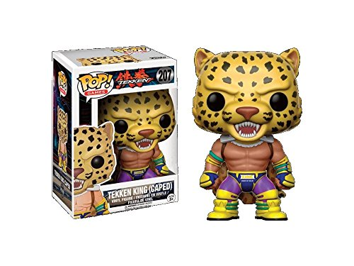 Funko - Figurine Tekken - King Caped Exclu Pop 10cm - 0889698144797