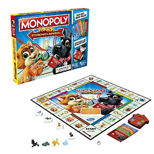 familiespellen - Monopoly Junior Elektronisch Bankieren (1 TOYS)