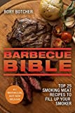 Image de Barbecue Bible: Top 25 Smoking Meat Recipes To Fill Up Your Smoker (Rory's Meat Kitch