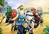 Lego Ninjago Einladungskarten 12er Set inkl. 12 Umschläge N15
