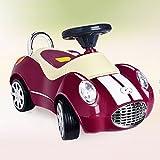 JZM Twist Per Bambini Car Yo Car Toy Per Bambini Di 1-3 Anni Può Sedersi Persone Blocco Scorrevole Baby With Music Walker,Winered