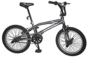 Cosmic Stunt Plus 20-inch BMX Bicycle, Kid's 20-inch (Grey)