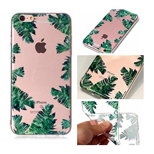 iPhone 6s Custodia, Cartoon Dente di leone - TPU Silicone Trasparente Nuovo Gel Soft Case iPhone 6/ 6S Custodia 4.7 durevole Cartoon Cover, Prova di scossa anti-graffio # # 1