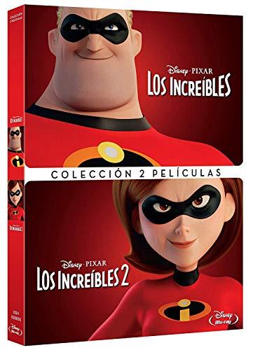 Pack Los Increibles 1+2 [DVD]