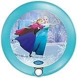 Philips Lighting Disney Frozen - Luz nocturna con sensor, luz blanca cálida, bombilla LED de 0,06 W, color azul