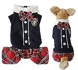 Stéréo Motif Poisson Rouge Vêtements pour petit chien chiot vêtements costume rouge 2015XS-XL