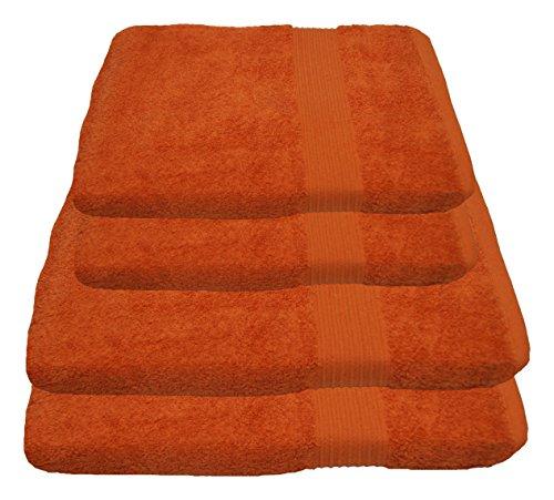 Julie Julsen Handtuch Set 2X Duschtuch 2X Handtuch Terrakotta/in 23 Farben erhältlich weich und saugstark