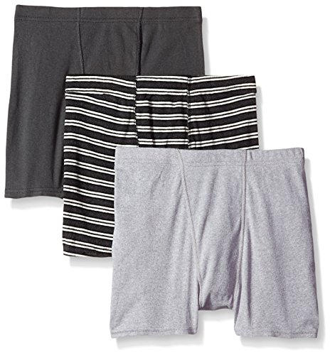 Hanes Boys' ComfortSoft® Dyed Boxer Briefs 3-Pack/Herren Boxer Briefs 3-Pack, Multi-Color as seen on the picture, XL (Hanes Baumwoll-slip)