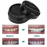 Ouneed® Zahnaufhellung,Zähne Bleichen Pulver Natürlich Organisch Aktiviert Holzkohle Bambus Zahnpasta