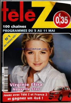 TELE Z [No 1286] du 05/05/2007 - VIRGINIE EFIRA