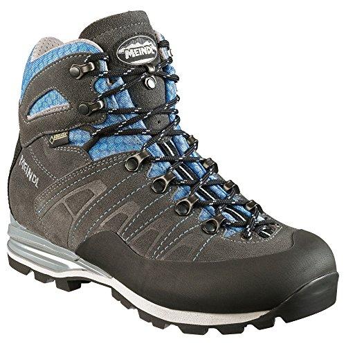 Meindl Antelao Lady GTX Größe UK 7 anthrazit-hellblau Gtx Mountaineering Boot
