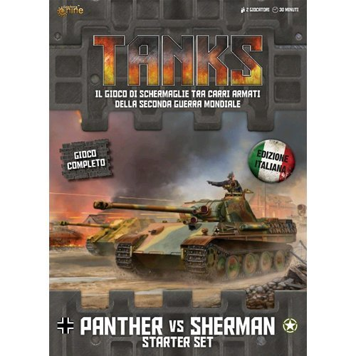 Tanks - Panther vs Sherman Starter Set - Italiano