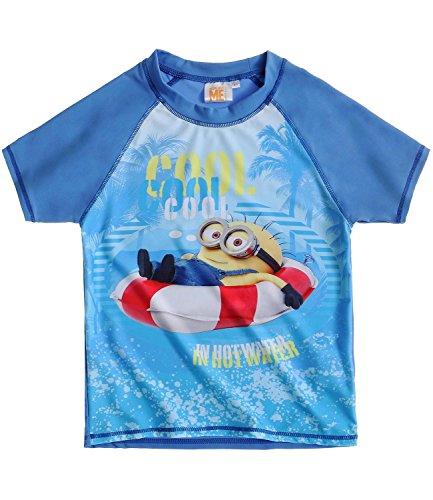 Minions Despicable Me Jungen Swim Shirt - blau - 140