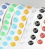 14 X NFC Tags | NXP Chip NTAG213 | 144 Bytes Speicherkapazität | 7 Farben | runde selbstklebende etiketten | Hohe Scankraft und Ultra Slim-Design | starker Kleber.