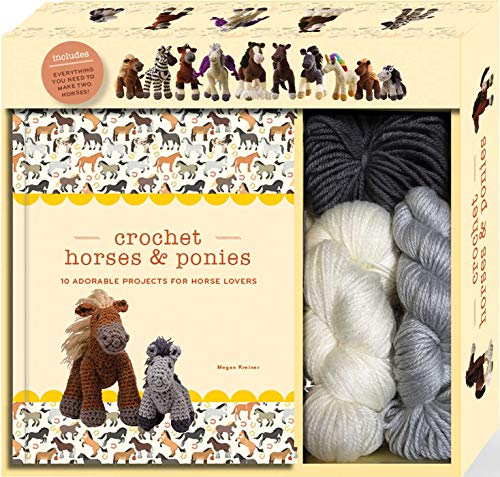 Crochet Horses   Ponies  10 Adorable Projects for Horse Lovers (Crochet  Kits) c1cc5a012335