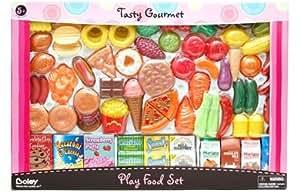 Tasty Gourmet – Coffret Nourriture pour Dinette – 100 Pièces (Import Royaume Uni)