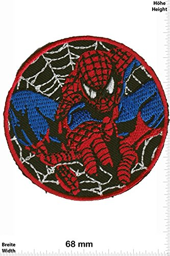 Parches   Spider Man Round  Cartoon   Spider Man