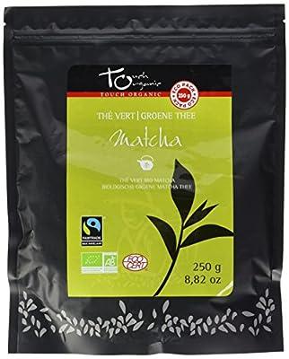 Touch Organic Thé Vert Matcha BIO 250 g - Lot de 2